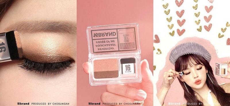 16 Brand là một cuộc cách mạng mới trong trang điểm mắt.